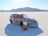 Bonneville SpeedWeek 2013 offical DE-VIRG, LSR approved.